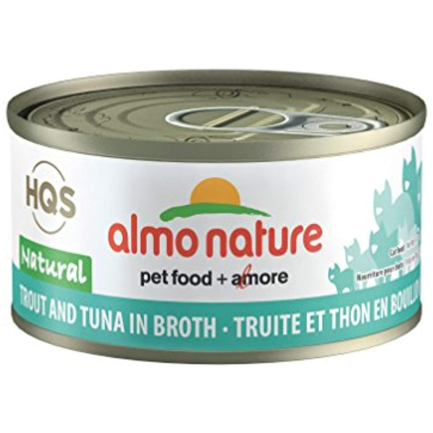 Almo Nature Hqs Legend Natural Cat Trout And Tuna 24 Pack Of 2 47 Oz 70g Cans Click Image To Review More With Images Canned Cat Food Natural Pet Food Natural Chicken