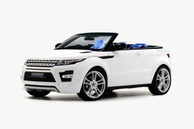 Range Rover Evoque Cabrio By Startech Design Range Rover Evoque Range Rover Evoque Convertible Range Rover