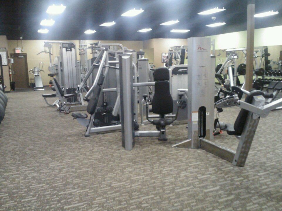 Selectorized Strength Equipment Area Anytime Fitness Dacula Fitness