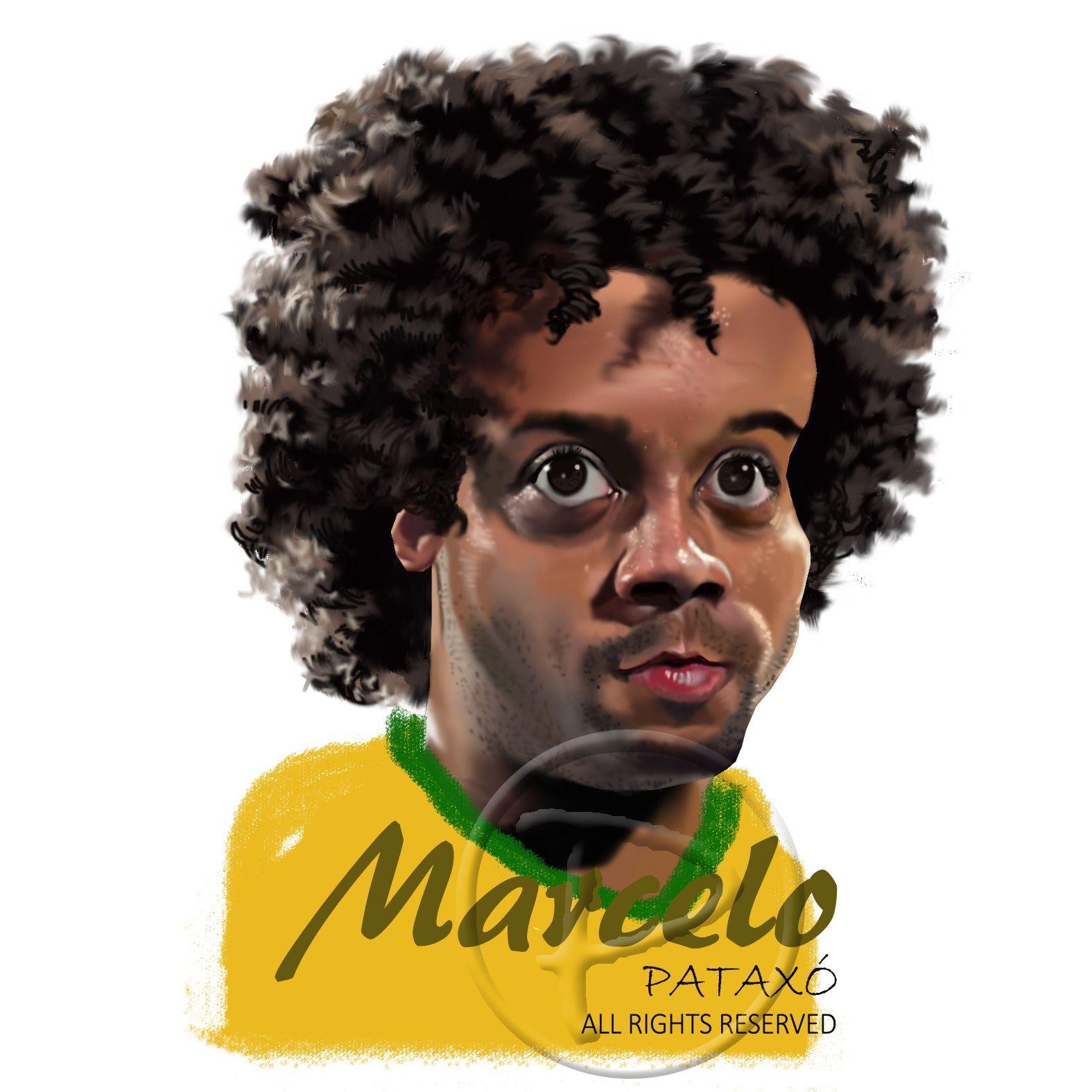 Marcelo, brazilian football player.