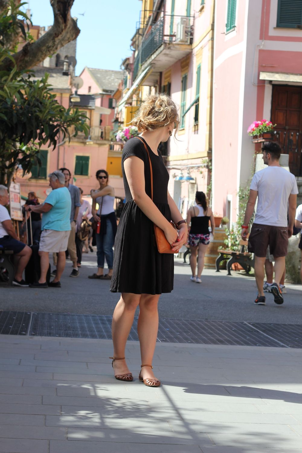 Traipsing through Europe in the Spring - Europe bucket list - the Cinque Terre, travel outfit