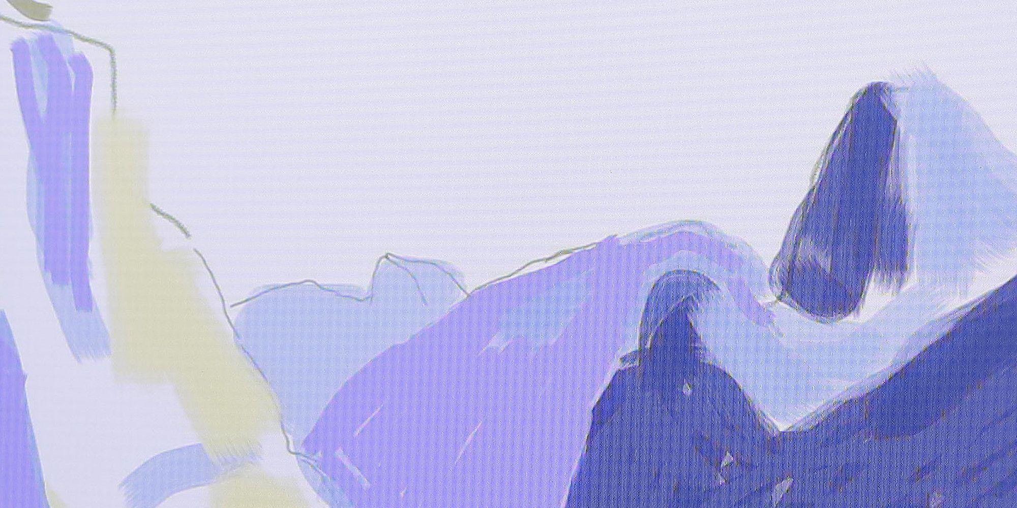 Bcabdaded Ipad Paintings David Hockney