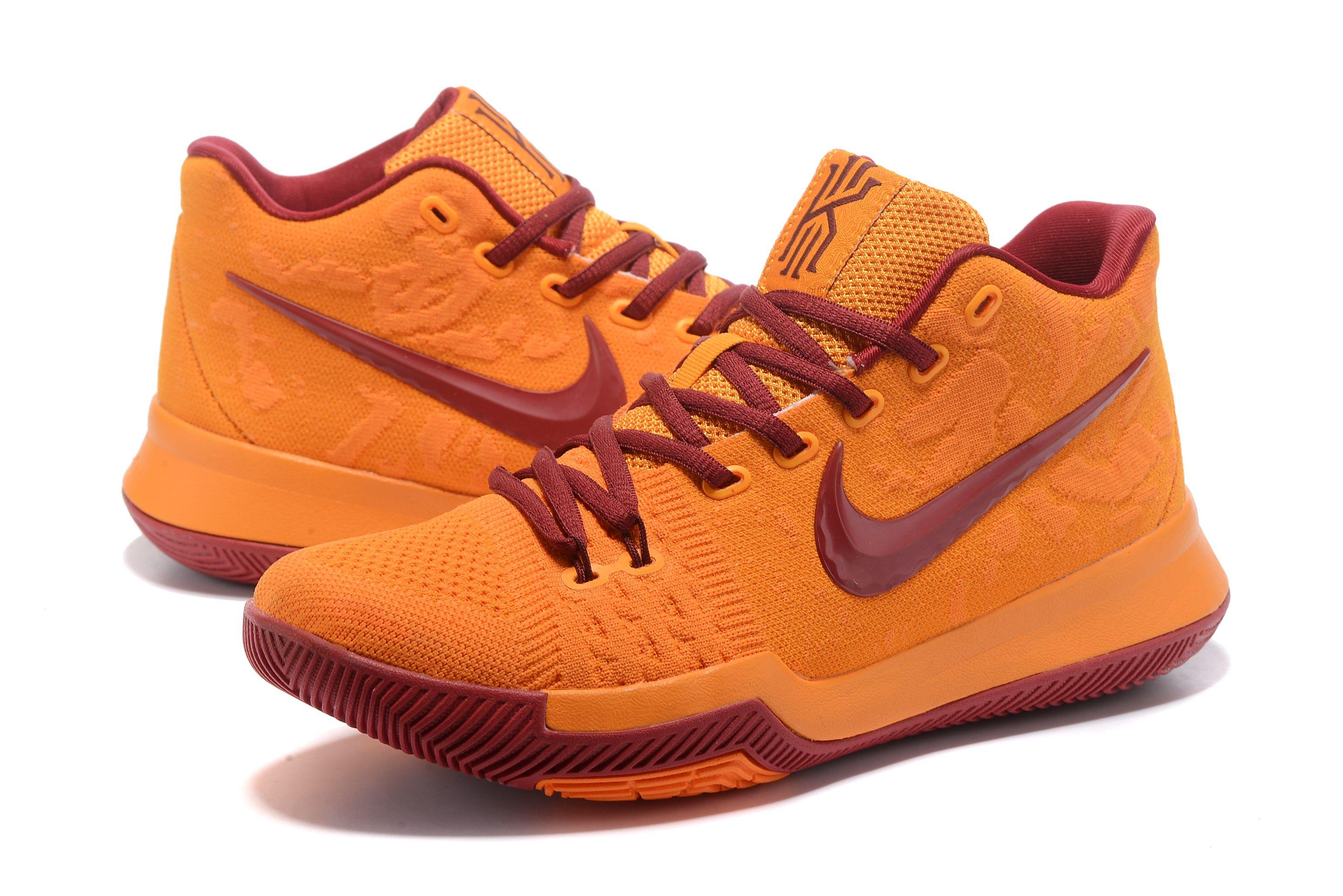 Nehmen Billig Weiß Braun Schuhe Schwarz Billig Deal Nike Kyrie 3 852417 016
