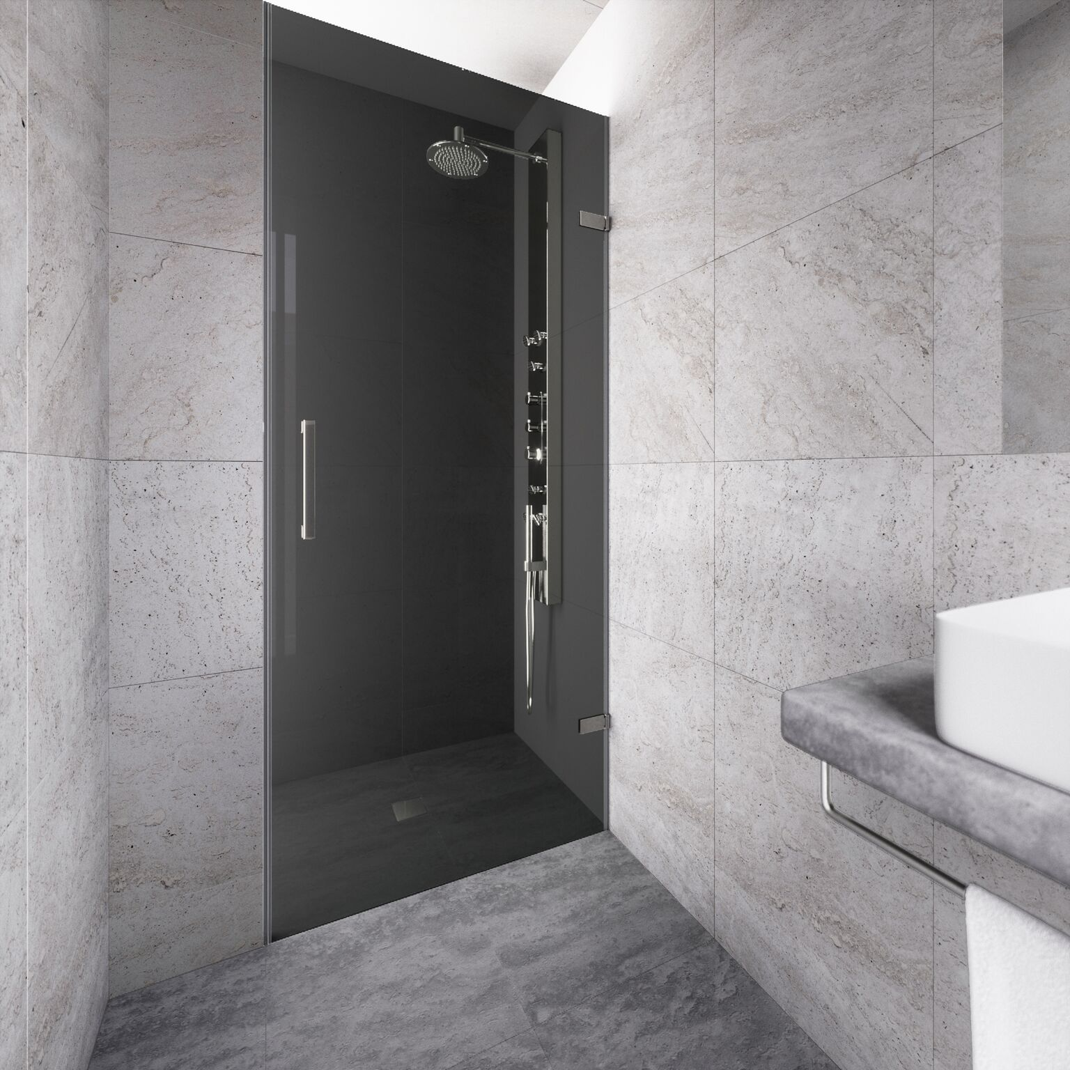 Small Bathroom With Frameless Shower: Create Your Dream Bathroom With The Beautiful Frameless