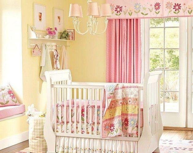 Cortinas para la habitaci n de un bebe decoracion pinterest cuarto bebe cortinas y bebe - Cortinas habitacion bebe nina ...