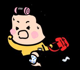 MiM, la niña Celular by Funnyeve - LINE Creators' Stickers