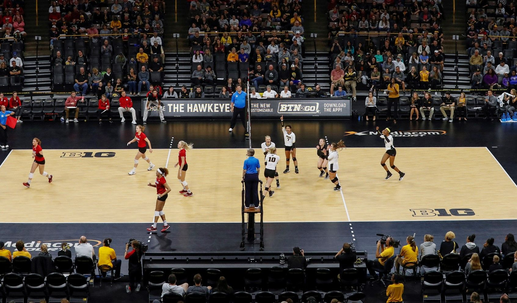 Hawkeyes Announced 2018 Schedule Volleyball News Iowa Volleyball