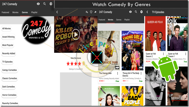 Watch Tv Stream Online 247 Comedy Movies Tv Apk For Android
