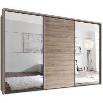 Amazing Schwebet renschrank SWITCHBOX Kleiderschrank von Webesto Sonoma Eiche mit Spiegel