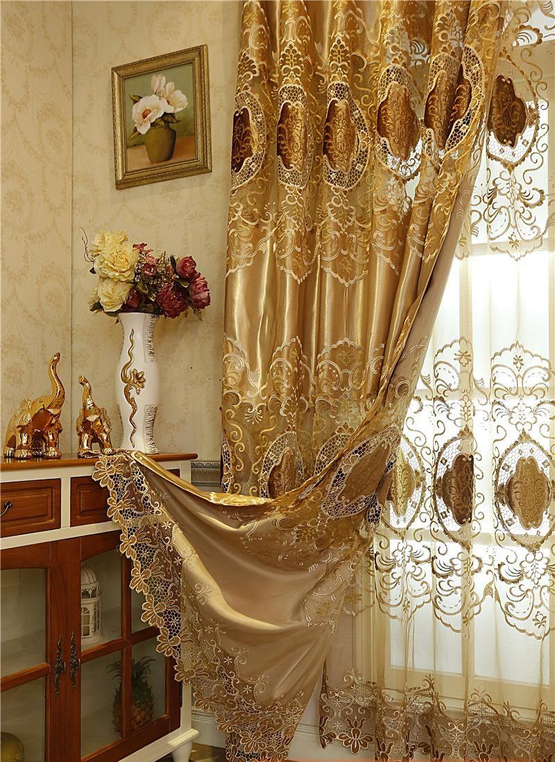 Tkaniny Jedwabne Curtain Home Meble Nowe Rozpuszczalne W
