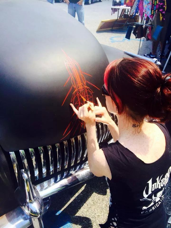 Hot Rod Jen | Pinstriping & Automotive Art | Pinterest ...
