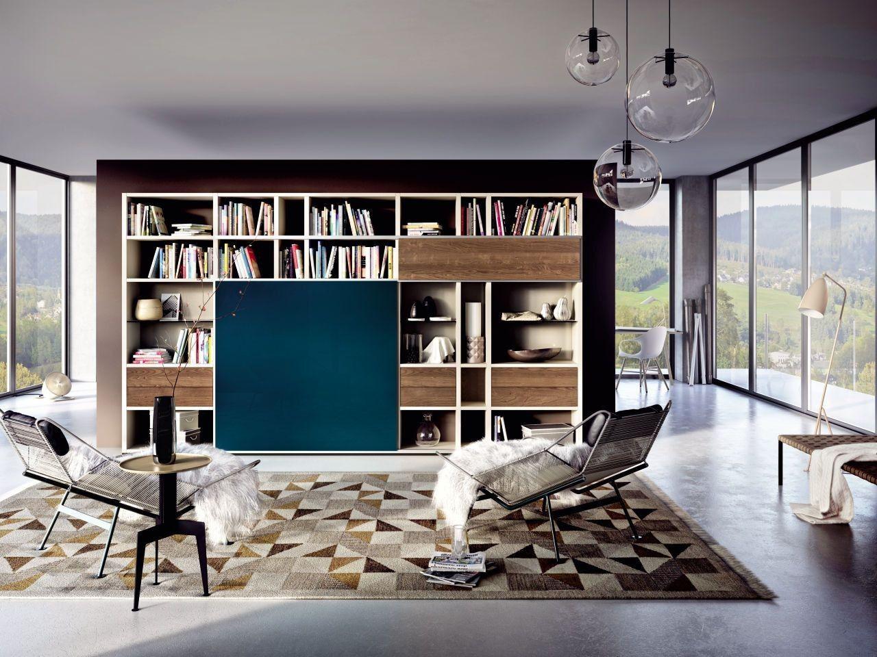 Wohnwand Hulsta Mega Design Mit Bildern Hulsta Mega Design Wohnzimmermobel Modern Wohnen