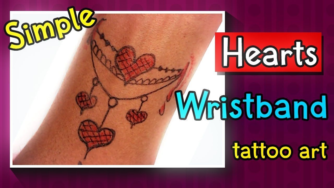 Photo of Beautifully Hearts Bracelet Tattoo ❤Easy Homemade Tattoo ❤Love Tattoo ❤ DIY tattoo art ❤ new tattoo – Homemade Tattoo 2020