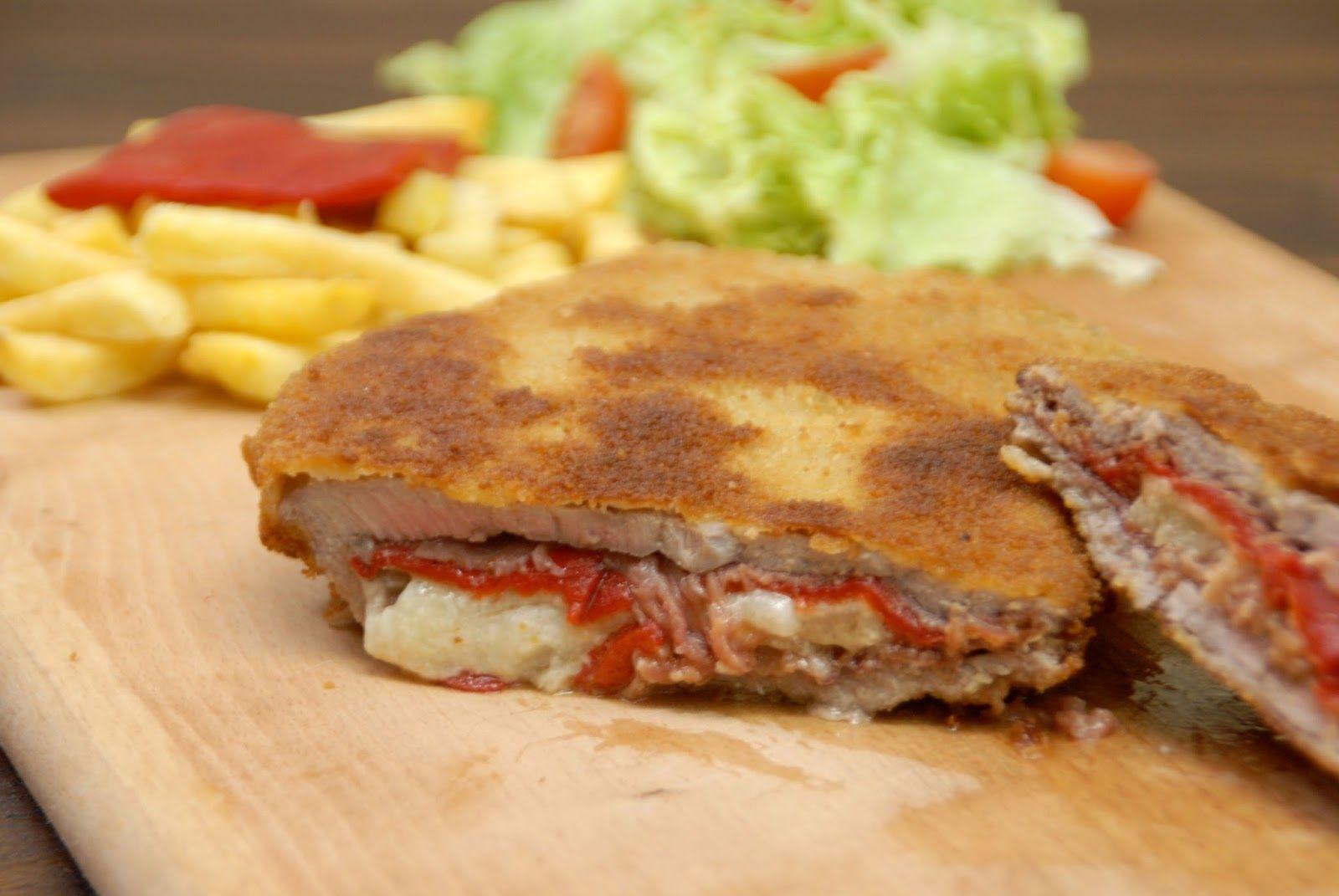 Cachopo Asturiano Receta Tradicional Asturiana Saltando La Dieta Cachopo Recetas Deliciosas Comida