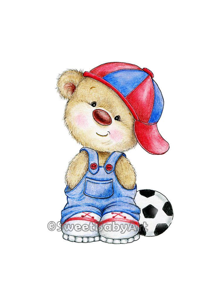 Teddy Bear Nursery Art Animal Nursery Print Children Art