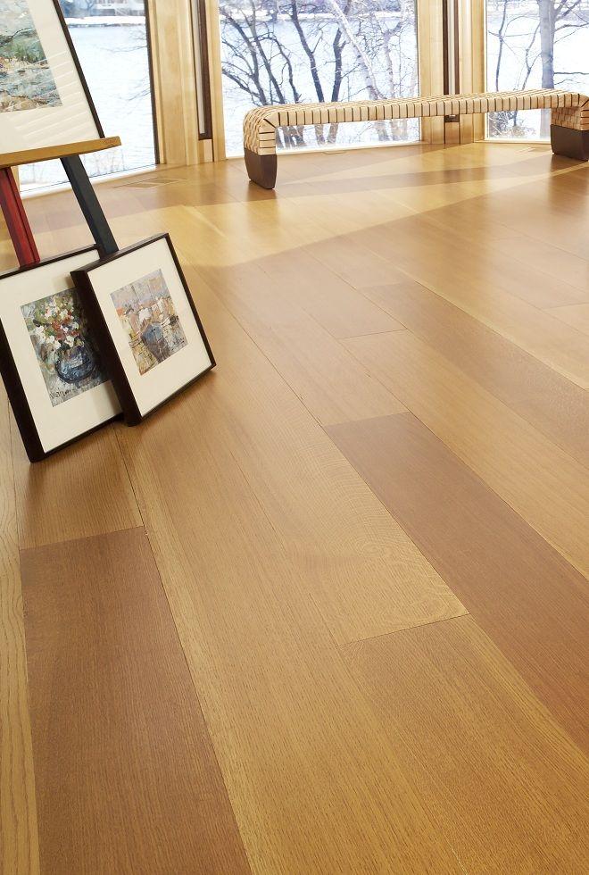White Oak floor Pinterest - laminat in küche verlegen