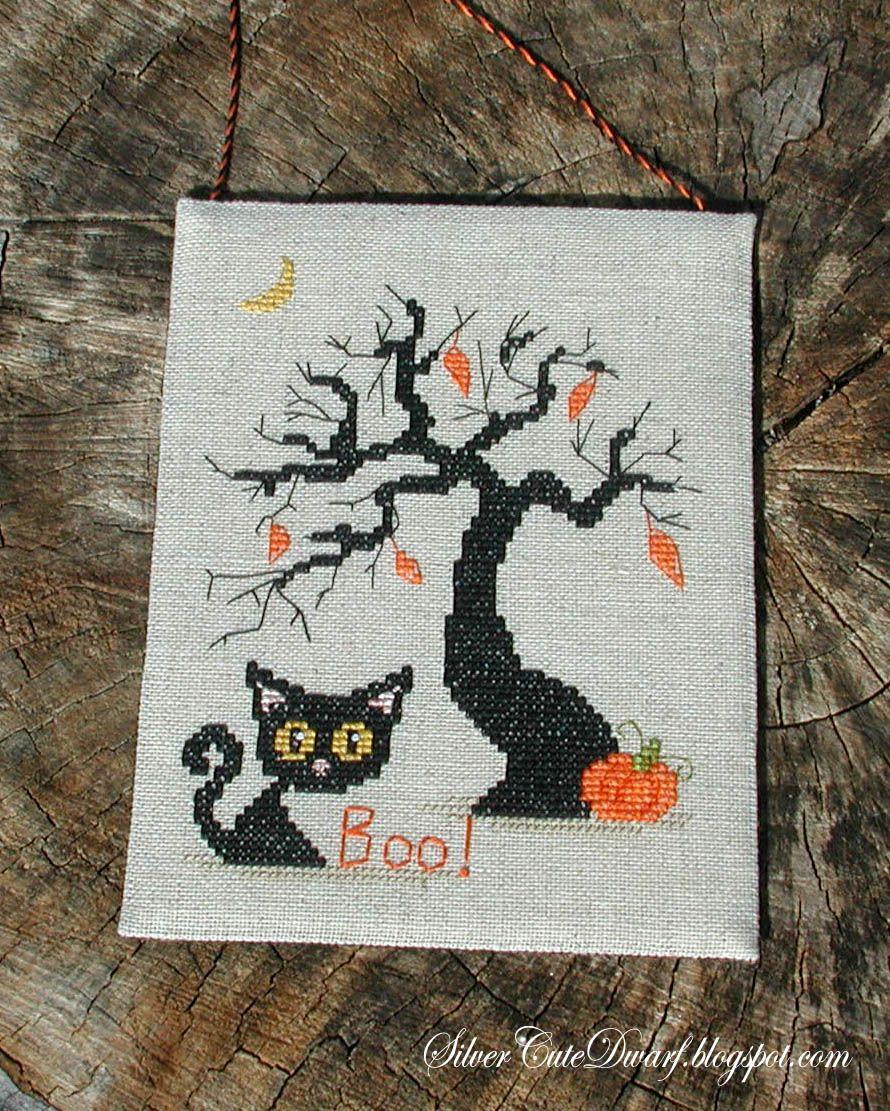 Silver\'s Journal - Мои разноцветные крестики: Halloween is coming ...