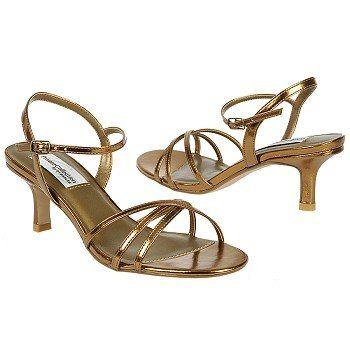 Dyeables Flamingo Shoes (Bronze) - Women's Wedding Shoes - B