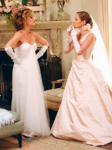 Jennifer lopez in monster in law o movie and series for Jlo wedding dress