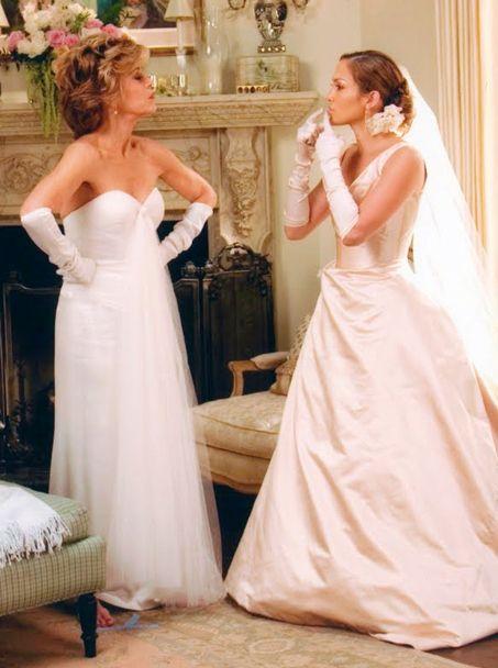 Jennifer Lopez In Monster In Law Wedding Movies Movie Wedding Dresses Bride