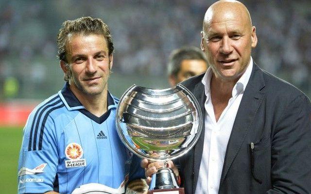 IL SYDNEY BATTE IL PADOVA 3-2... OVAZIONE PER DEL PIERO (FOTO) #Calcio