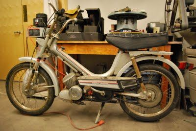 One of my first mopeds   Probably a 1979 or 1980 Open Road
