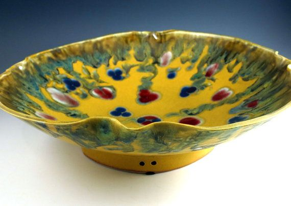Decorative Ceramic Bowl Large Decorative Ceramic Art Bowl Porcelainbotanic2Ceramic