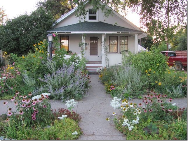 Image result for xeriscape front yard | Cottage front yard ...