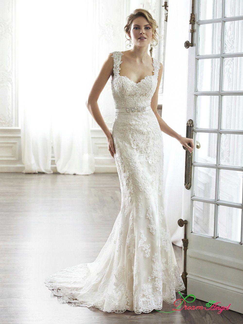 New Fashionable Sweetheart Backless Lace Mermaid Vestidos Fashion ...