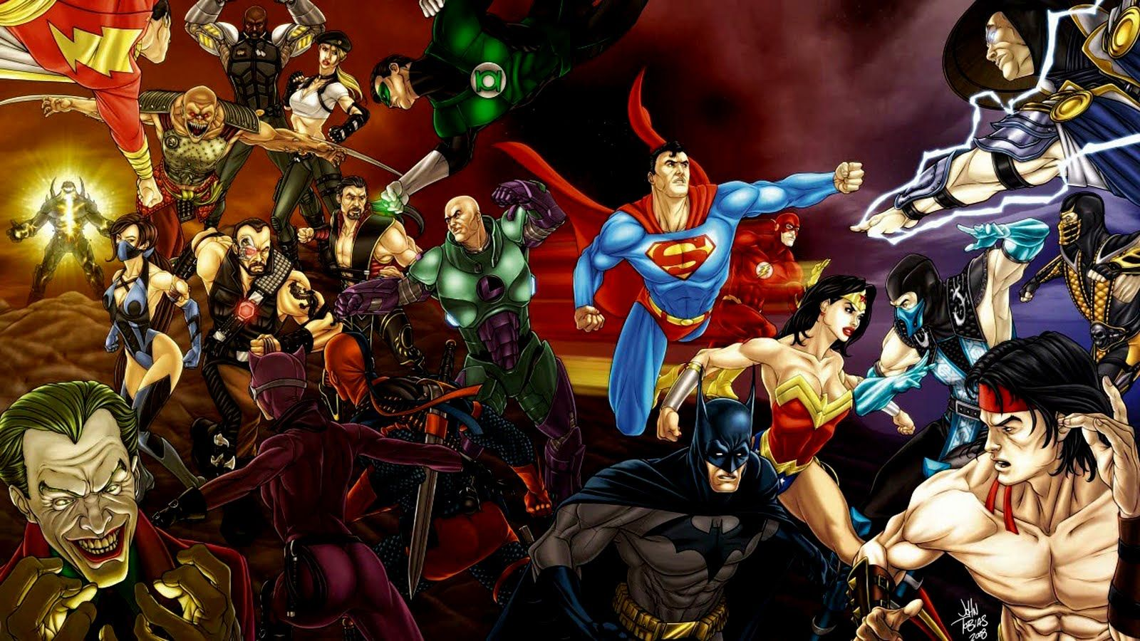 Comic Charcters Super Hero Dc Comics All Super Heroes Hd