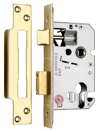 Securefast Qube EURO Mortice Sashlock Case Brass At Door furniture direct we sell high quality products at great value including Qube EURO Sashlock Case ...  sc 1 st  Pinterest & Securefast Qube EURO Mortice Sashlock Case Brass At Door furniture ...