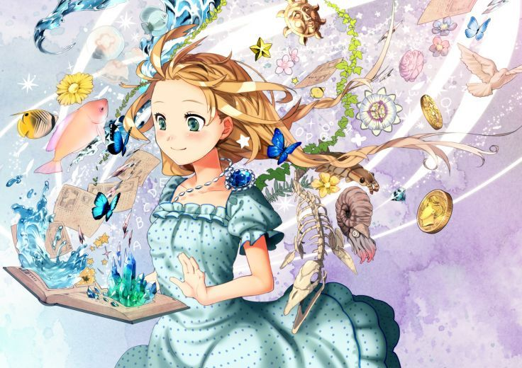 Alice In Wonderland Animal Bird Blonde Hair Book Brown Hair