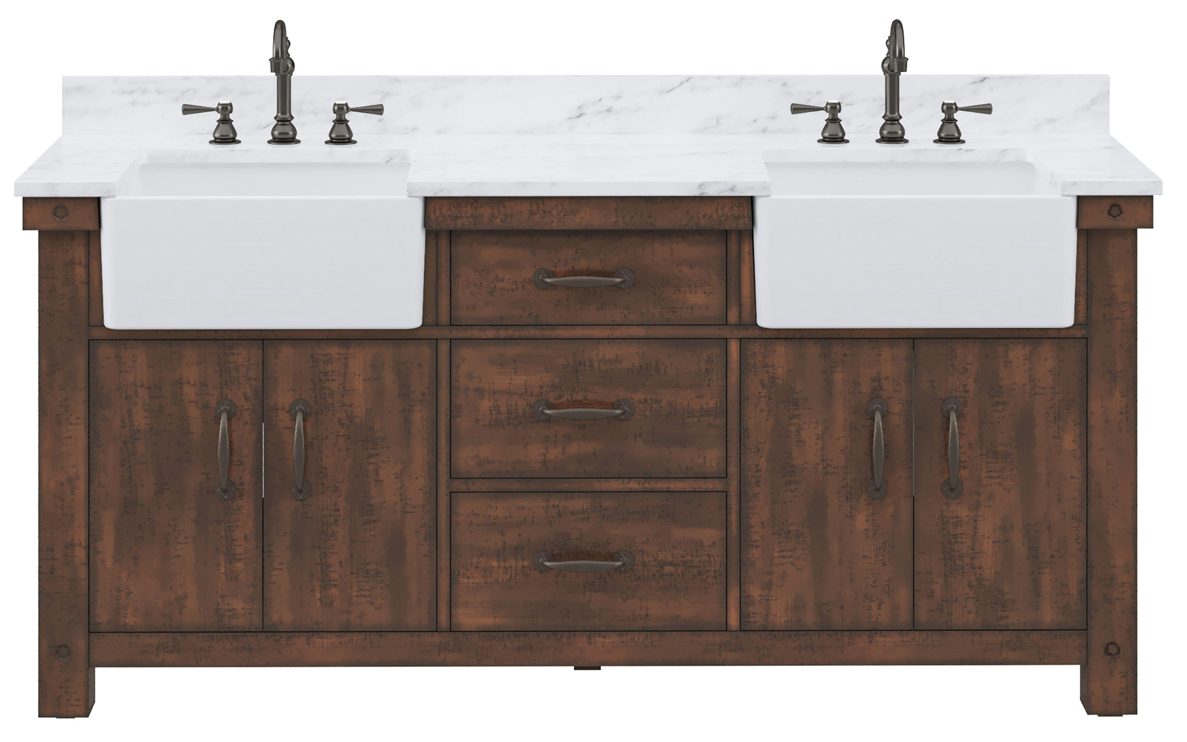 Pin On Rustic Bathroom Vanities [ 3000 x 4798 Pixel ]