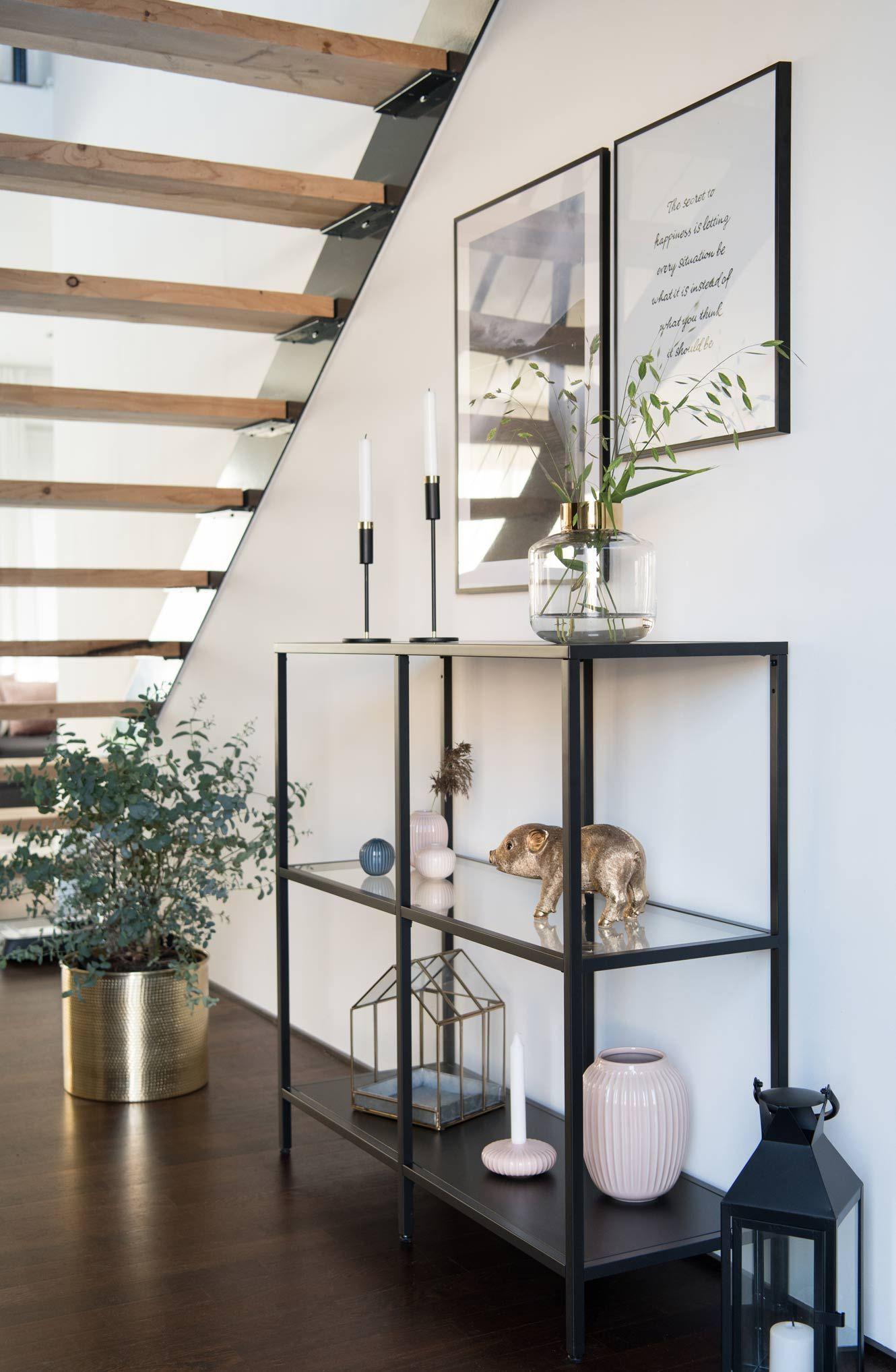 Passt Perfekt Mein Ikea Vittsjo Unter Der Treppe Treppe