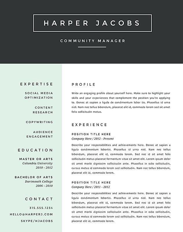 pin by annette pwajok on best resume format in 2020
