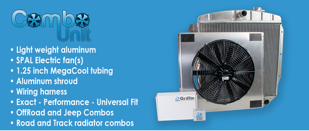 Combounit Radiators For Exactfit Performancefit And Universalfit