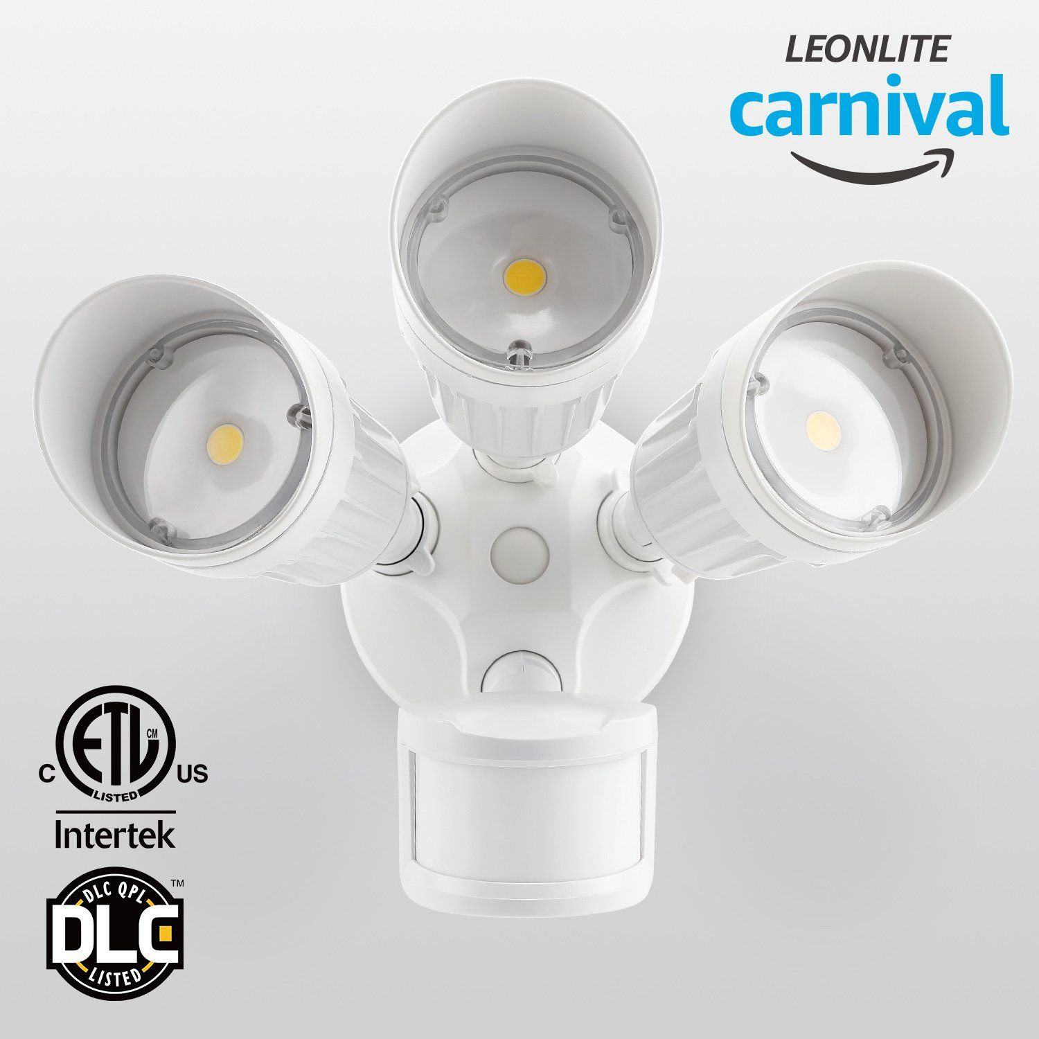Outdoor Security Light With Camera 30w 3 head motion activated led outdoor security light photo sensor 30w 3 head motion activated led outdoor security light photo sensor 150w halogen workwithnaturefo