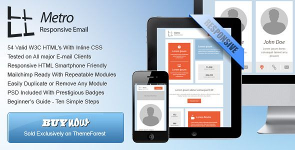General Metro Email Templates Dark Light Template - Buy email templates