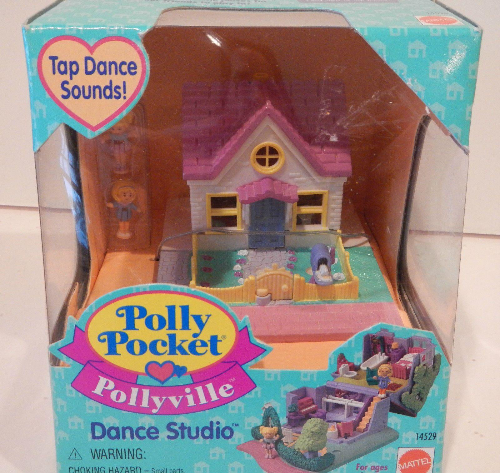 Polly Pocket Pollyville Dance Studio