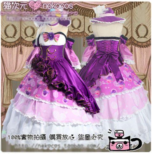 Love-Live-Kousaka-Minami-Tojo-Maki-Nico-Eli-Lolita-Palace-Dress-Cosplay-Costume