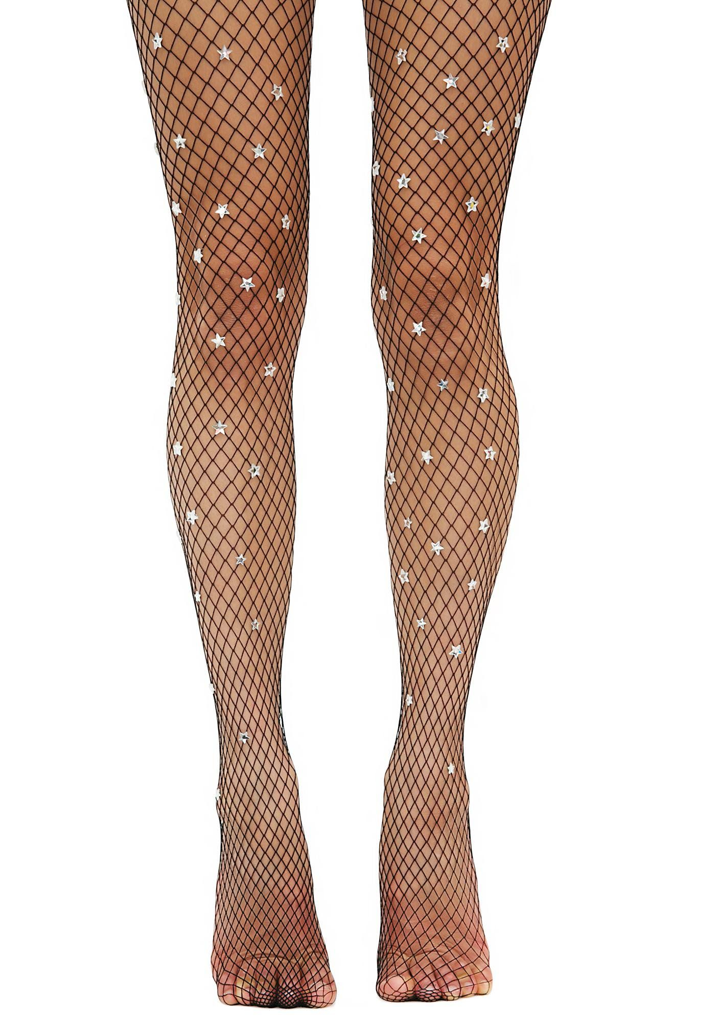 Embroidery Flower Women Mesh Fishnet Pattern Pantyhose Tights Stocking Sock C
