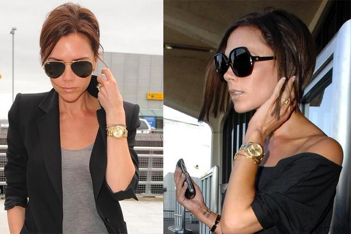 Victoria rolex gold plain watch female celebrity watches the rich and famous ladies wear for Celebrity watches female