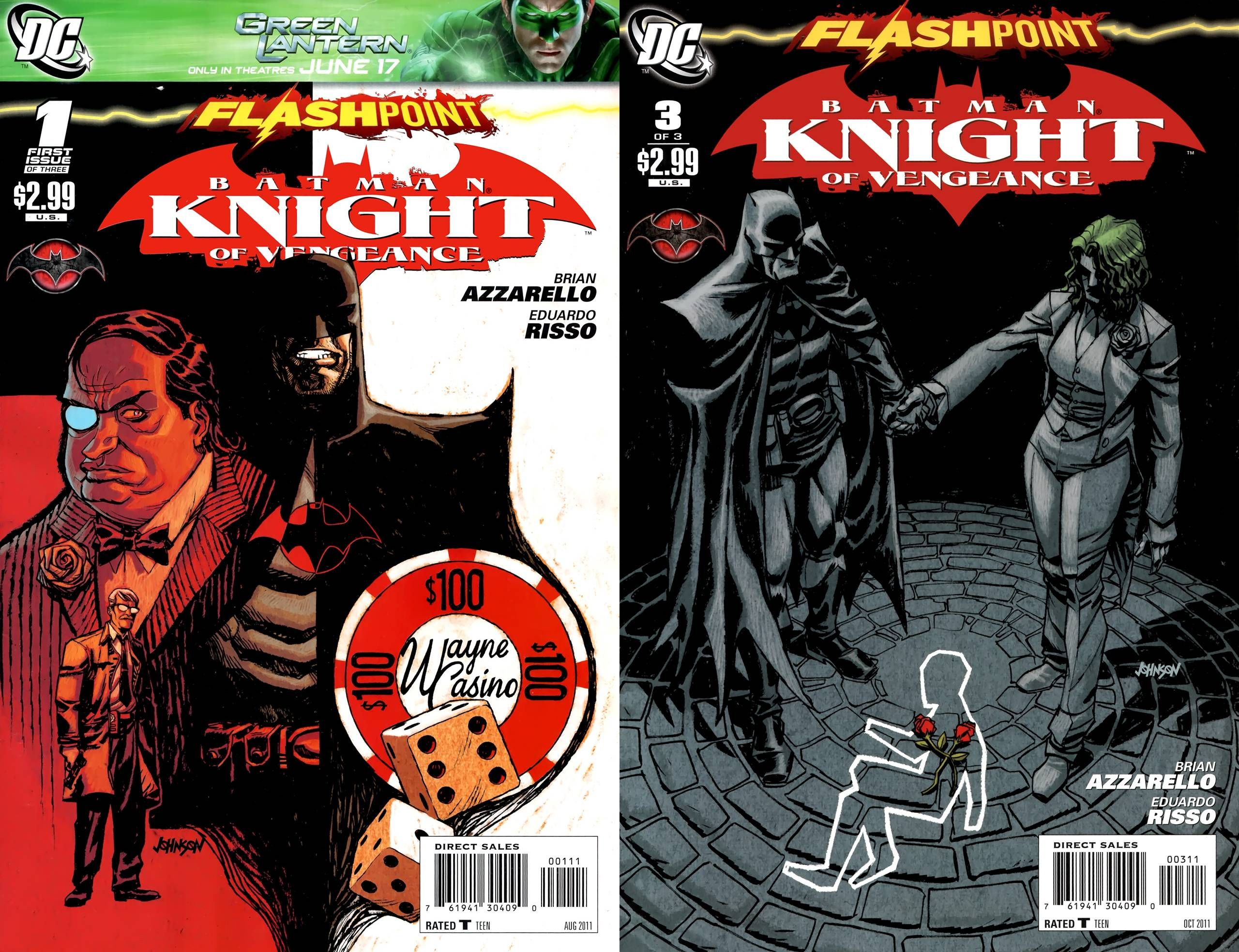 Flashpoint - Batman Knight of Vengeance 1-3 (2011) Ccomplete English | CBR | 3 Issues | 39.28 MB