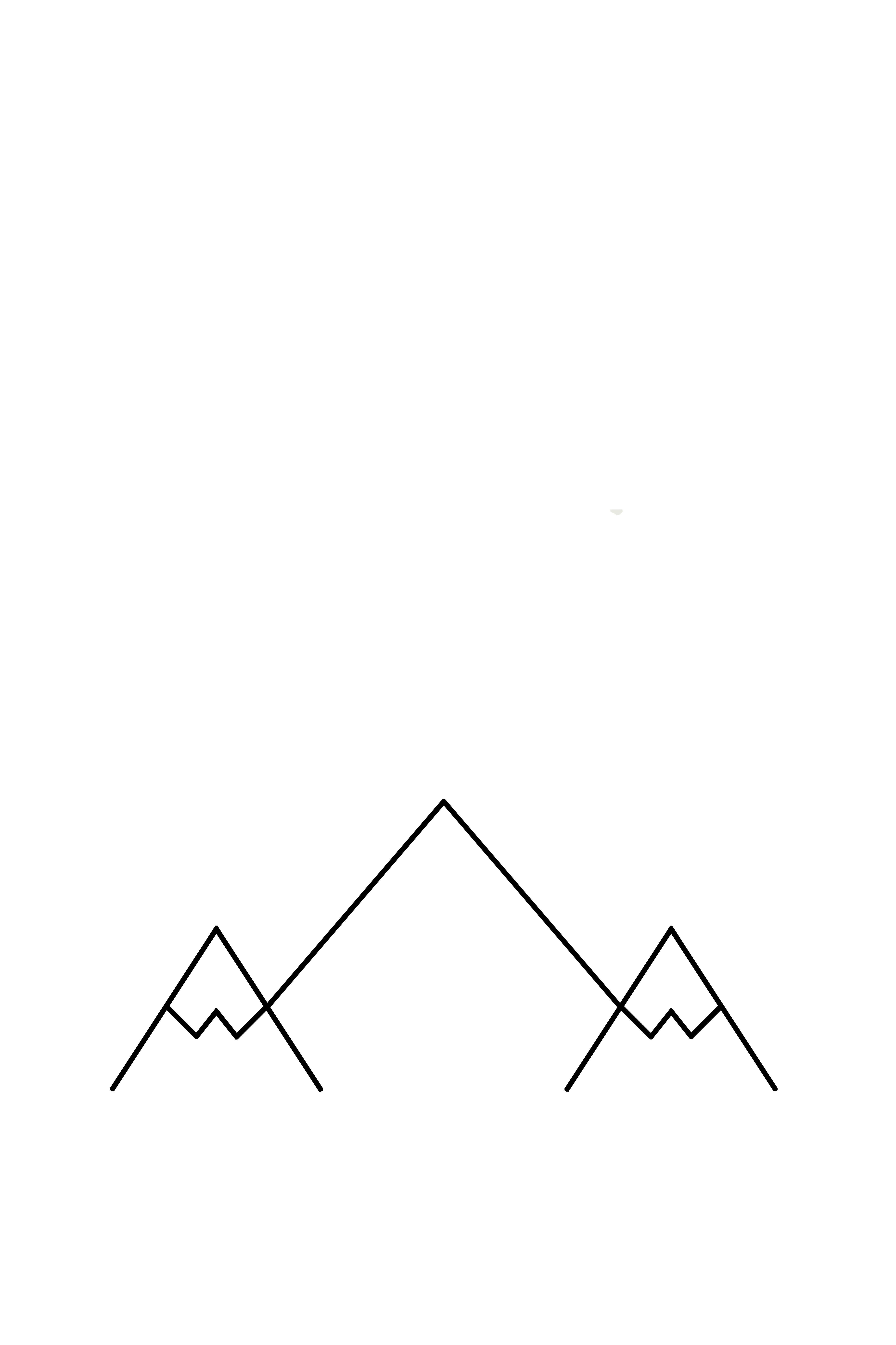 Mountain Nordic Poster black white Print Printable Wall ...