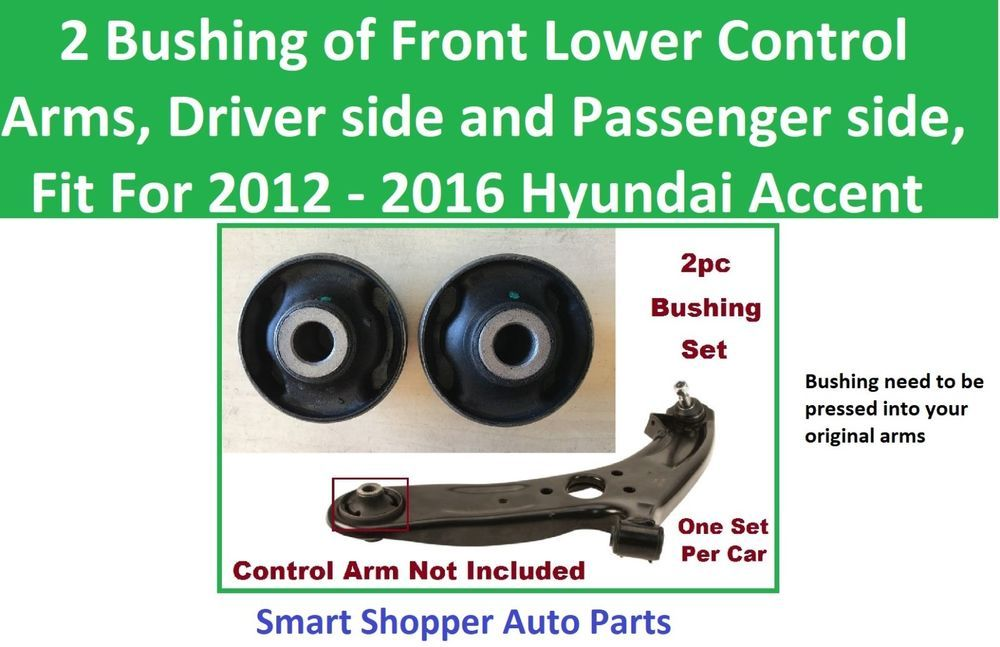 Fits 2012-2015 Hyundai Accent Control Arm Front Right Lower SKP 94395PM 2013 201