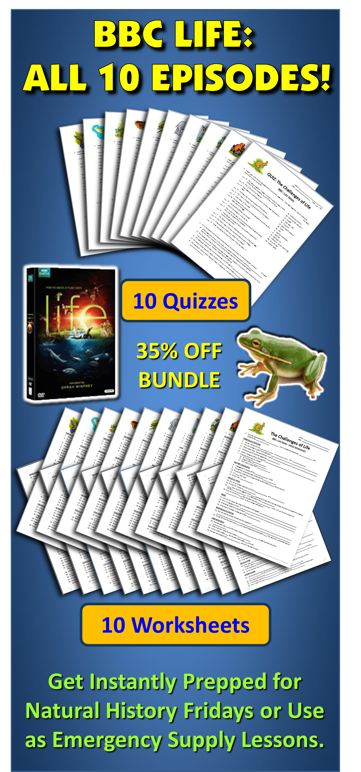 Bbc life all 10 episodes video worksheets video quizzes bundle make the most out of your bbc life video series by having all the episode worksheets and handy quick quizzes for each all are editable and come with answer ibookread Read Online