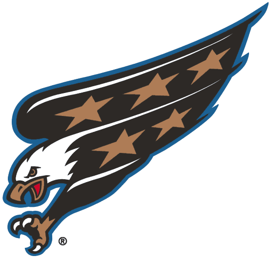 3dc01e1ad Washington Capitals Primary Logo (1997 98-2001 02) - An eagle diving with  claws out