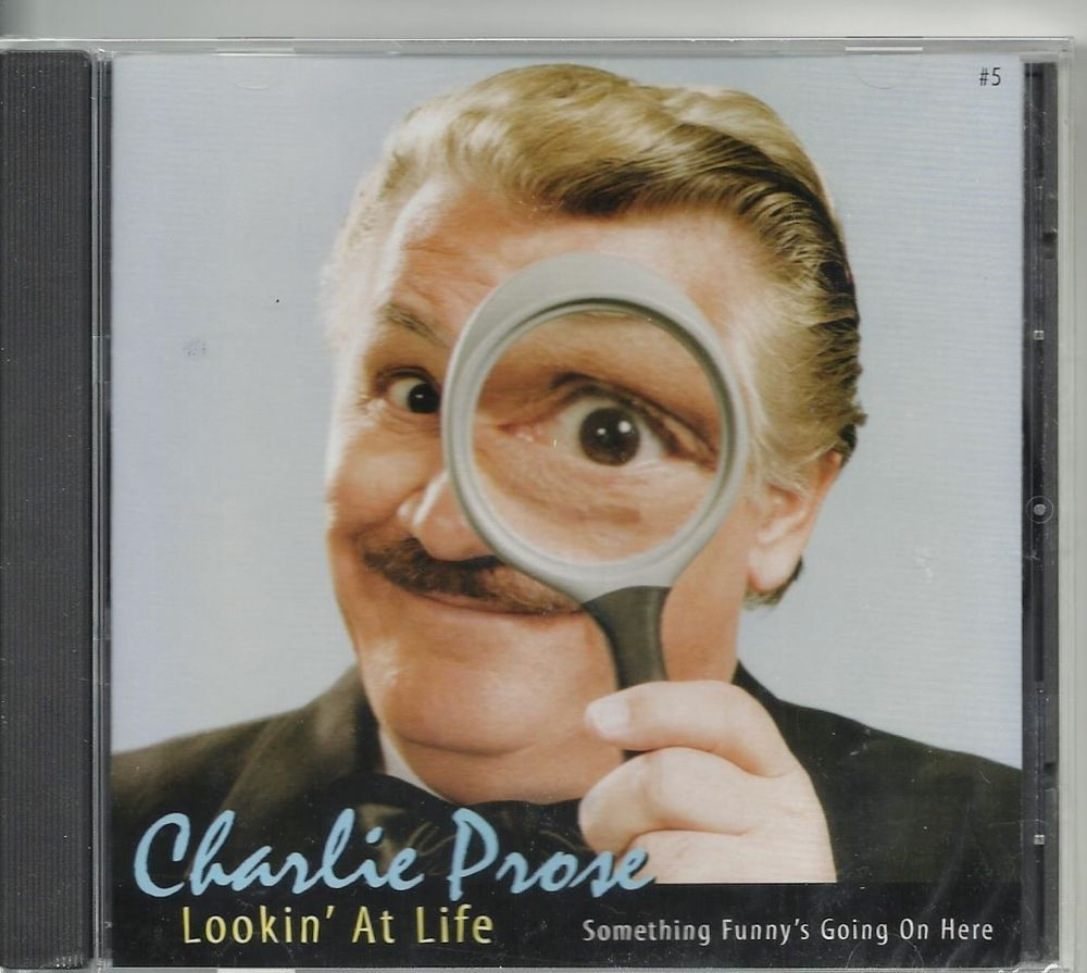 Sold!!  Charlie Prose Lookin' At #Life CD NWOT Live #Comedy 2000.