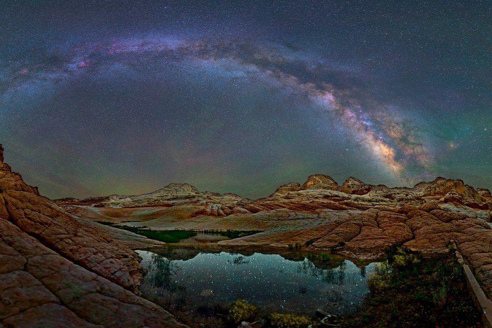 Cieli stellati, gli splendidi scatti del fotografo David Lane