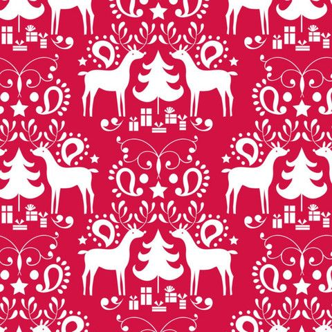 Blend - Treelicious - Maude Asbury - Rudolph in Red by Bobbie Lou's Fabric Factory
